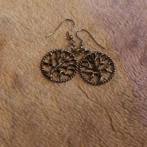 "Handmade ""Tree of Life"" earrings"